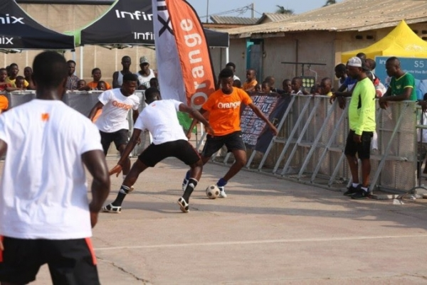 Côte d'Ivoire : Orange, sponsor officiel du tournoi ''The Cage''