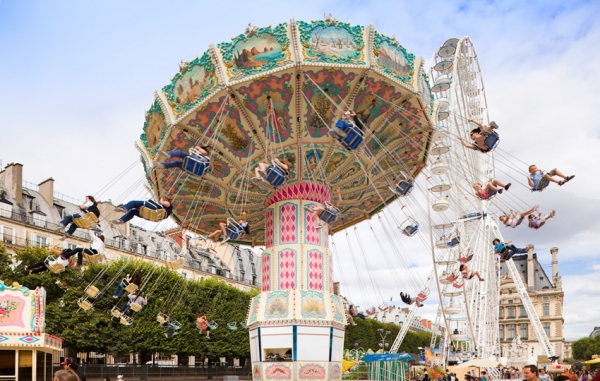 Un parc d'attraction aux Tuilleries (Photo DR)